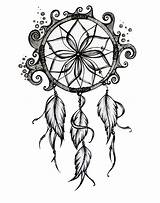 Dream Catcher Drawings Coloring Template Imgkid Credit Larger Sketch sketch template