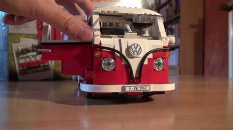 vw bulli lego test lego set 10220 volkswagen vw t1 cingbus review