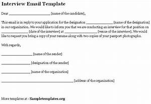 interview letter reply sample letters free sample letters With confirmation email template job interview
