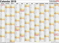 Luxury 30 Sample Yearly Calendar 2019 Printable A4