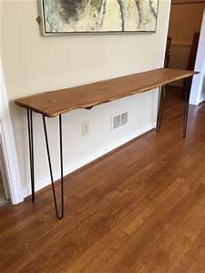 Hairpin Legs Baumarkt : epoch live edge wood slab tables ~ Frokenaadalensverden.com Haus und Dekorationen