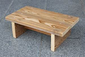 Simple step stool for a child