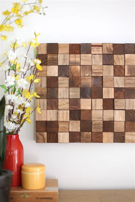 creative wood wall art ideas weekend diy projects