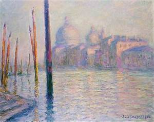 Veduta di Venezia Claude Monet