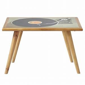 Table Basse Retro : table basse vintage fifty 39 s maisons du monde ~ Teatrodelosmanantiales.com Idées de Décoration