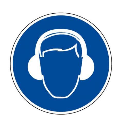 sticker bureau ob4 picto pvc protection de l 39 ouie pictogramme sécurité