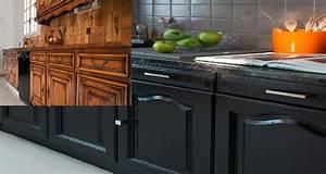 repeindre cuisine en gris relooking cuisine bois en 18 With peindre des poutres en bois 18 repeindre cuisine en gris cuisine gris de sude brosser