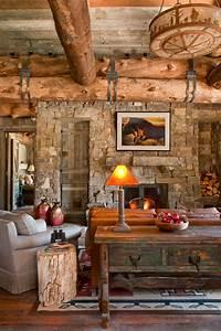 Gorgeous, Rustic, Living, Room, Design, Ideas