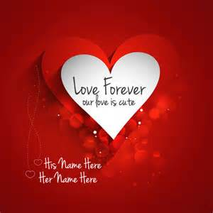 Love Forever Image With Name