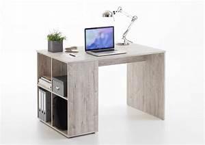 GENT Schreibtisch Mit Regal Von FMD Sandeiche