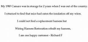 Wiring Harness Restoration  Repair  Rebuilding  Customizing