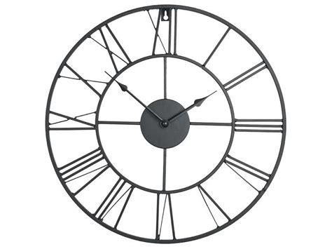 conforama horloge cuisine horloge 60 cm clem coloris noir vente de horloge conforama