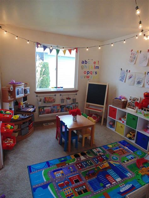 Decorating Ideas Playroom by Playroom Makeover On A Budget Farmhousestyle Playroom