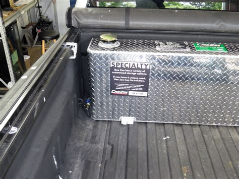 Deezee Truck Bed Auxiliary Tank