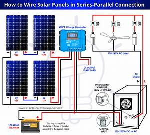 How To Wire Solar Panels In Series