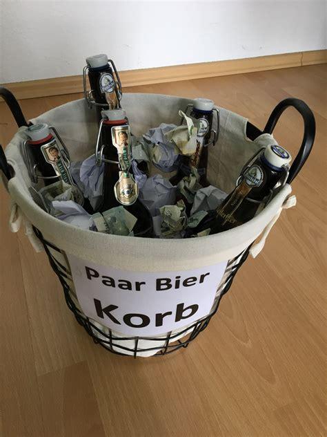 Paar Bilder Ideen by Papierkorb M 228 Nner Geschenk Paar Bier Korb