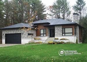 maison moderne contemporaine avec garage no 3280 de With nice plan de maison neuve 3 maison neuve plain pied modale paysanne