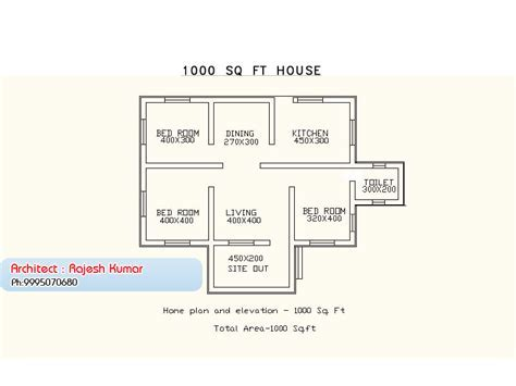 1000 Square Feet 3 Bedroom Low Budget Kerala Style Home