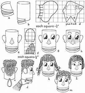 Make Hand Puppets With Ice Cream Containers And Oatmeal