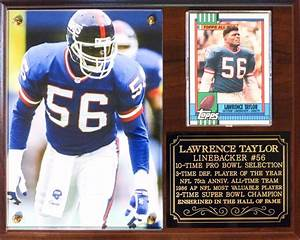 Lawrence Taylor #56 New York Giants Legend NFL Photo ...