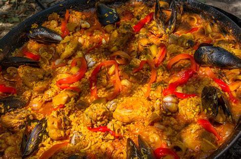 paella andalouse recette les paellas