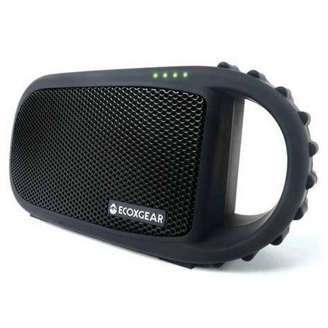 Waterproof Boat Speakers by Ecoxgear Ecocarbon Waterproof Bluetooth Speaker Black