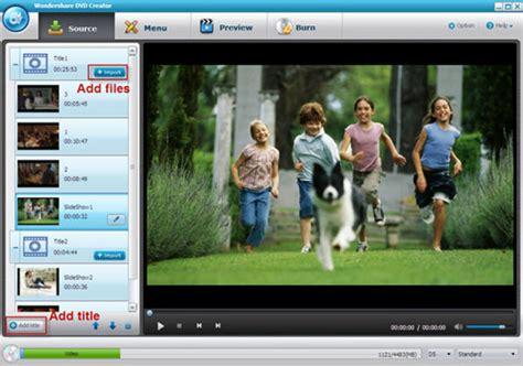 Wondershare Dvd Creator Menu Templates by Wondershare Dvd Creator 3 3 0 9 With Dvd Menu Templates