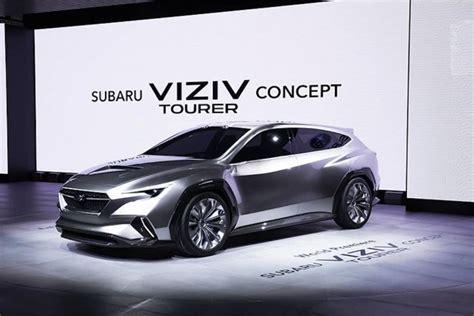 2020 Subaru Lineup by Viziv Tourer Concept Breaks Cover Previews 2020 Subaru
