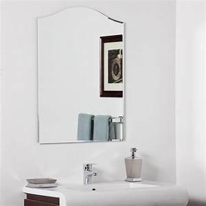 decor wonderland amelia modern bathroom mirror beyond stores With bathroom morrors