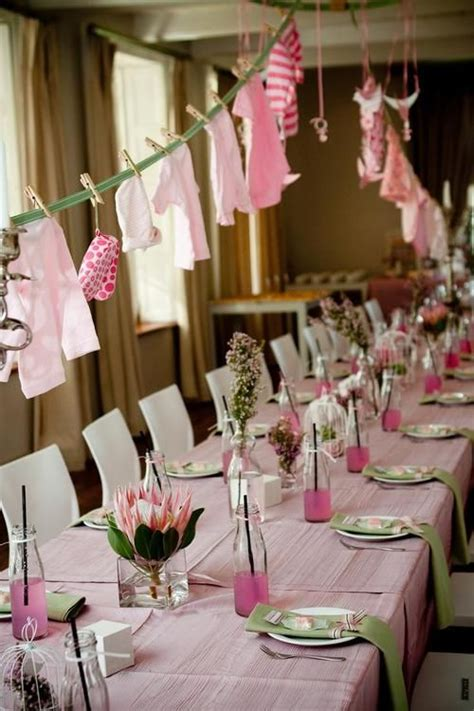 baby shower table 37 sweetest baby shower table settings to get inspired digsdigs