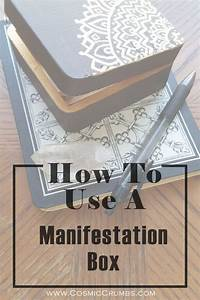 How To Use A Manifestation Box