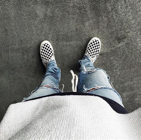 Ways to Wear Vans Checkerboard Sneakers   Van Vans and Sneakers