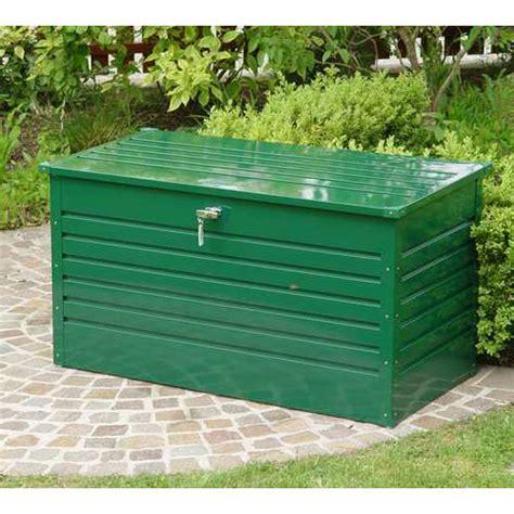 coffre de jardin en tole acier biohort 800 litres oogarden
