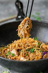 Weekly Lunch Prep Chicken Chow Mein Noodles The Best Easy One Pot Pan