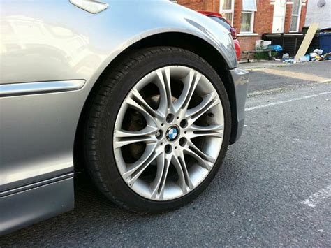 18 Inch Genuine Staggered Bmw Mv2 Alloy Wheels And Tyres