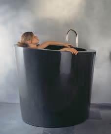 deep elegant and space saving soaking bathtub