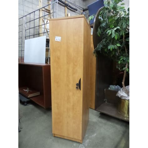 Narrow Wardrobe Cabinet by Sugar Maple Narrow Profile Storage Cabinet W Wardrobe