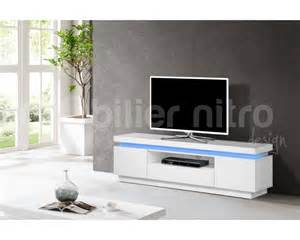 Meuble Escalier Blanc Conforama by Meuble Tv Blanc Laque Conforama Solutions Pour La