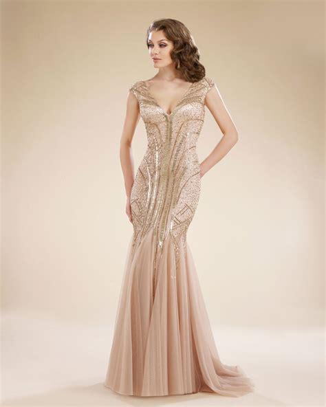 rina  montella   neck tulle mermaid gown french