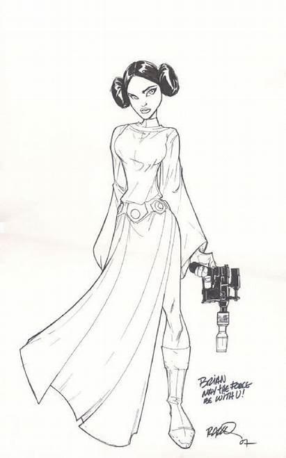 Leia Princess Wars Ramos Comic Humberto Fan