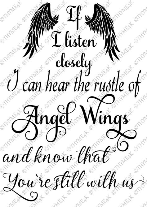 """Digital Design """"If I listen closely...Angel Wings"""