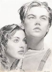 Titanic images Rose and Jack drawing HD wallpaper and ...