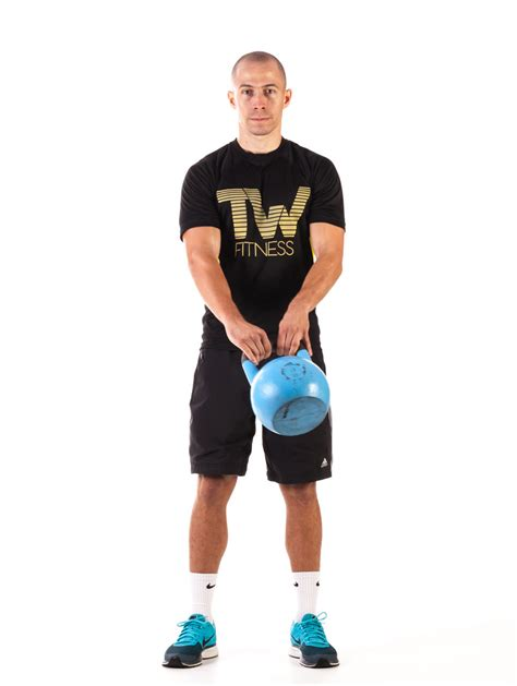 kettlebell body around fitness front