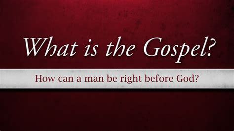 gospel ill  honest