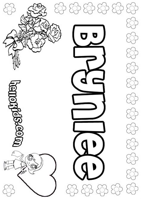 brynlee coloring pages hellokidscom