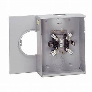 Eaton 100 Amp Single Meter Socket Hl U0026p And Reliant Approved-unrrs111beusch