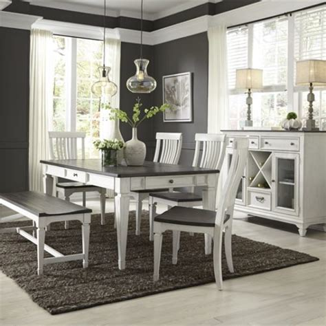 white kitchen with table gray and white dining tables at kitchen tables and more