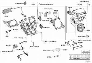 2019 Toyota Corolla Damper Servo Sub