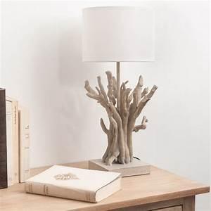 Lampe Chevet Bois Flotté : d co bord de mer tout pour une ambiance marine ~ Teatrodelosmanantiales.com Idées de Décoration