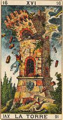la maison dieu carte du tarot tarot divinatoire